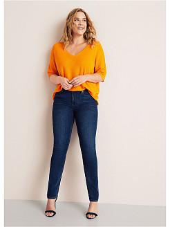Широкие или облегающие джинсы больших размеров выбрать для женщин