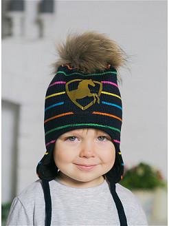 Хлопковые и вязаные шапки для детей