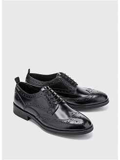 Черные и коричневые туфли для мужчин