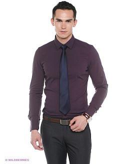 Красные и фиолетовые мужские рубашки